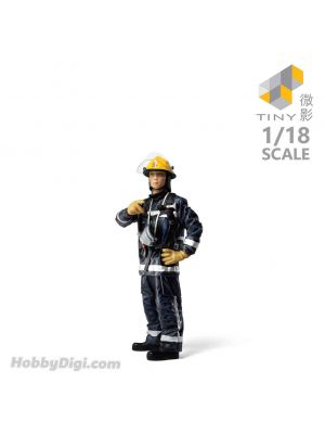 Tiny Hobby 1:18 Resin Figure 23 - 1900's Fireman