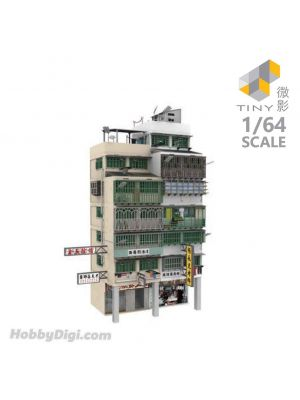 Tiny City 1:64 Diorama Bd18 - Kowloon Walled City Diorama
