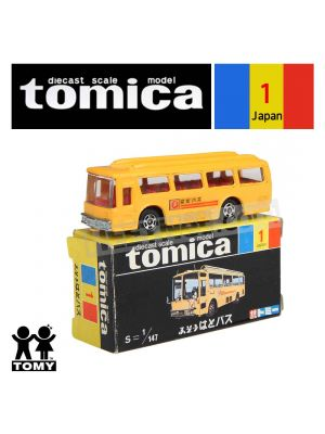 Tomica Retired Black Box Made in Japan Diecast Model Car No1 - Mitsubishi Fuso HATO Bus