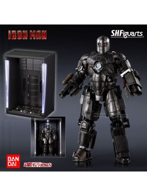 [JP Ver] Bandai S.H.Figuarts Tamashii Web Shop Exclusive Figrue: Iron Man Mark 1 (Birth of Iron Man Edition) & Hall of Armor