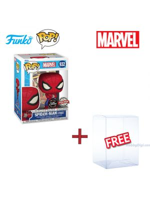 Funko Pop! Marvel 932: Spider-Man (Japanese TV Series) (Limited Glow Chase Edition)
