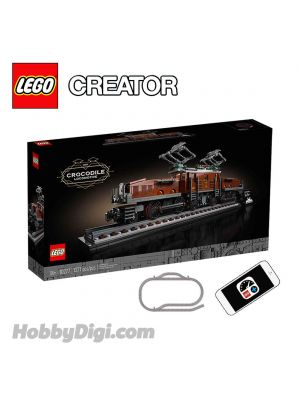 LEGO Creator Expert 10277 : Crocodile Locomotive with Train Track