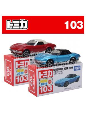 [2019 Sticker] Tomica Diecast Model Car No103 - Mitsuoka Rock Star Set of 2