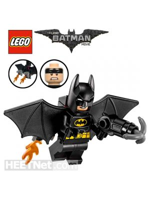 LEGO Loose Minifigure The Batman Movie: Batman with Jetpack and Grappling Gun
