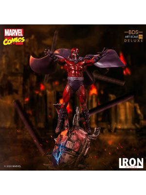 Iron Studios Marvel Comics BDS Art Scale 1/10 模型 - 磁力王 Magneto《變種特攻X-Men》