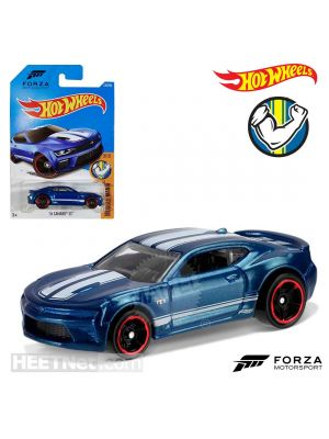 Hot Wheels Muscle Mania 129/250 合金車 - 2016 Camaro SS Blue