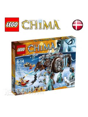 LEGO Legends of Chima 70145: Maulas Ice Mammoth Stomper