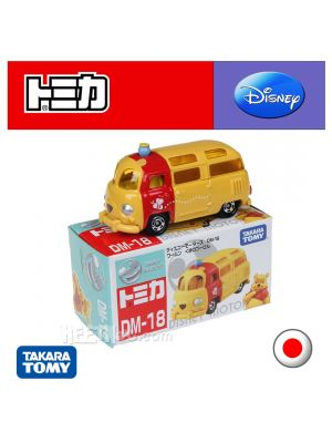 Tomica Disney Motors Diecast Model Car DM-18 - Warmun Pooh