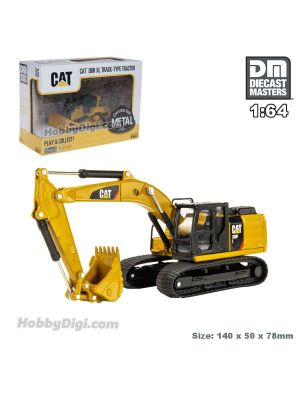 Diecast Masters 1:64 合金車 - CAT (Caterpillar) 320F L 液壓挖掘機