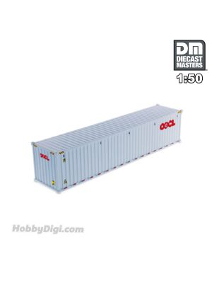 Diecast Masters 1:50 合金車 - 40' Dry sea container, OOCL (white)