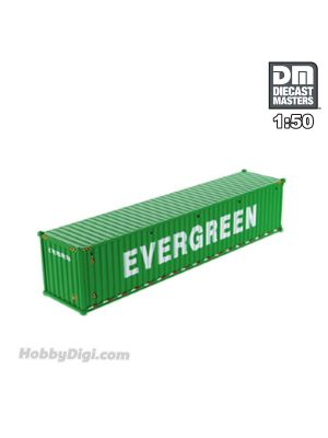 Diecast Masters 1:50 Diecast Model Car - 40' Dry sea container, EverGreen (dry in green)