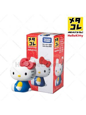 Metacolle Metal Figure - Hello Kitty Blue