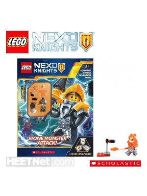 LEGO 故事遊戲冊連人仔: LEGO Nexo Knights - Stone Monsters Attack