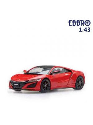 EBBRO 1:43 Diecast Model Car - Honda NSX 2016 Curva Red