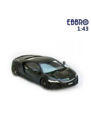 EBBRO 1:43 Diecast Model Car - Honda NSX 2016 Berlina Black