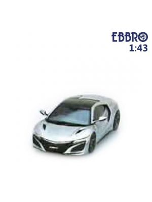 EBBRO 1:43 合金模型車 - Honda NSX 2016 Source Silver Metallic
