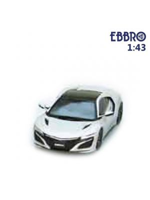 EBBRO 1:43 Diecast Model Car - Honda NSX 2016 Casino White Pearl