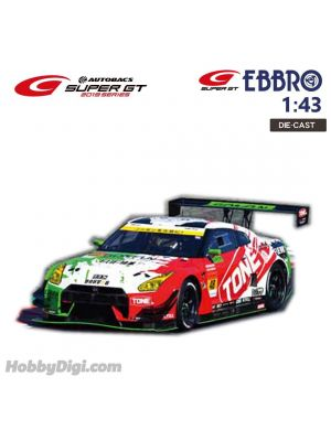 EBBRO Super GT 2019 1:43 Diecast Model Car - GO&FUN GT-R SUPER GT GT300 2019 No.48