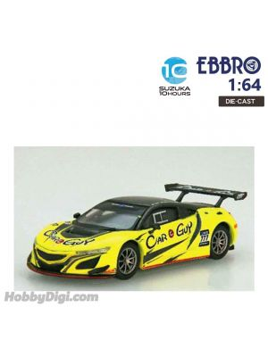 EBBRO Super GT 2019 1:64 合金模型車 - CARGUY Racing NSX GT3 SUZUKA 10 HOURS 2018