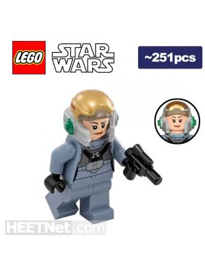 LEGO Loose Minifigure Star Wars: A-Wing Pilot