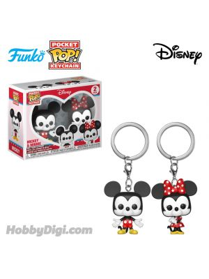 Funko Pop! Keychains Disney Series : 2PK - Mickey & Minnie