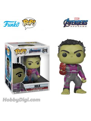 Funko Pop! Marvel 478 : Avengers 4 Endgame - Hulk with Gauntlet 6