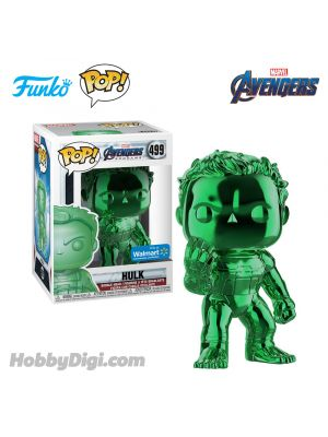 Funko IE Pop! Movies 499: Hulk - Green Chrome (Avengers 4: Endgame)