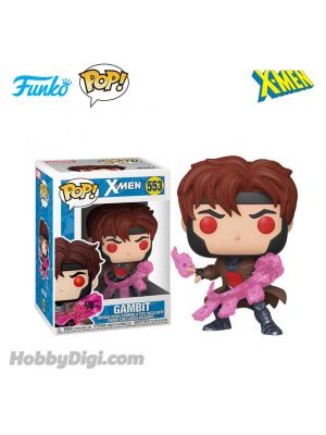 Funko Pop! Heroes 553 : Gambit with Cards