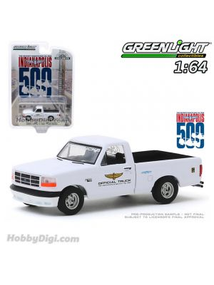 Greenlight 1:64 合金車 - Ford F-150 Lightning - 78th Annual Indianapolis 500 Mile Race Official Truck (Hobby Exclusive)