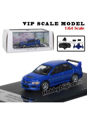 VIP SCALE Model 1:64 Diecast Model Car - BMW Luxury Line Blue