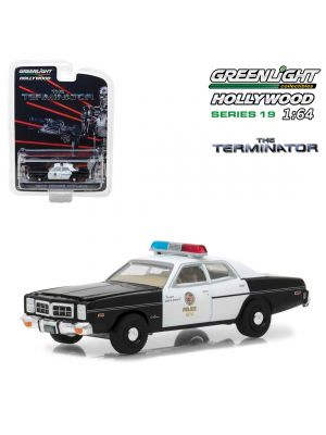 Greenlight 1:64 Model Car - 1977 Dodge Monaco Metropolitan Police (The Terminator)