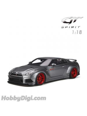 GT SPIRIT 1:18 Resin Model Car - Nissan GT-R Grey Modified by Proior Design