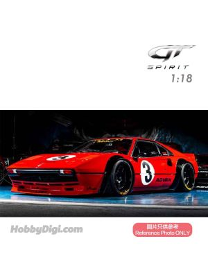 GT SPIRIT 1:18 Resin Model Car - Ferrari LB Works 308 (Rosso Corsa)