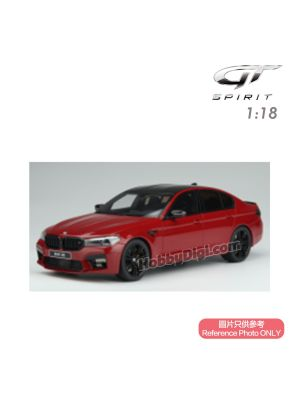 GT SPIRIT 1:18 Resin Model Car - BMW M5 (F90) Competition - Imola Red
