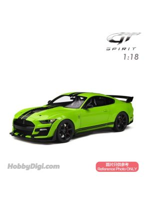 GT SPIRIT 1:18 Resin Model Car - FORD SHELBY GT500 Grabber lime