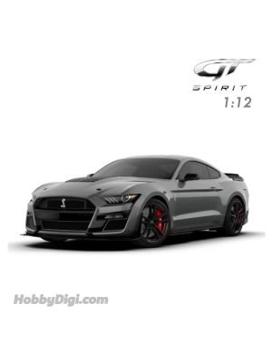 GT SPIRIT 1:12 Resin Model Car - 2020 FORD SHELBY GT500 Magnetic Grey