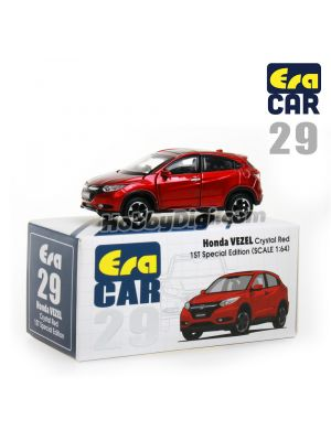 Era Car 1:64 Diecast Model Car 29 - Honda Vezel Crystal Red (1st Special Edition)