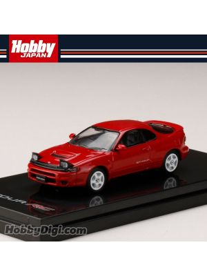 Hobby JAPAN Diecast Model Car - 1/64 Toyota CELICA GT-FOUR RC ST185 Customized Version Red