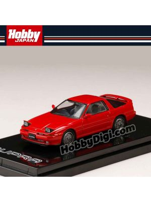 Hobby JAPAN Diecast Model Car - 1/64 Toyota SUPRA (A70) 2.5GT TWIN TURBO CUSTOMIZE VERSION SUPER RED II