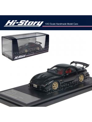 Hi-Story 1:43 Hand Made Resin Model Car - Mazda RX-7 Mazdaspeed R-Spec 2000 Black