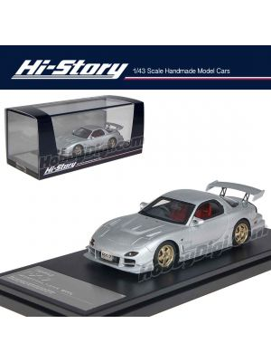 Hi-Story 1:43 Hand Made Resin Model Car - Mazda RX-7 Mazdaspeed R-Spec 2000 Silver