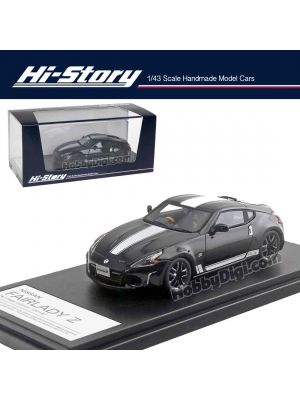 Hi-Story 1:43 Hand Made Resin Model Car - Fairlady Z Heritage Edn 2018 Black