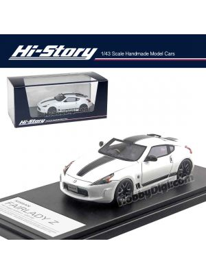 Hi-Story 1:43 Hand Made Resin Model Car - Fairlady Z Heritage Edn 2018 White