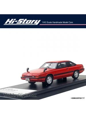 Hi-Story 1:43 手工制造樹脂模型車 - Cosmo Turbo Limited 1982 紅