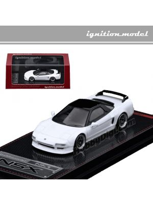 Ignition Model 1:64 Limited Diecast Model Car - Honda NSX (NA1) White (2 tone)