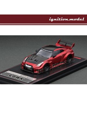 Ignition Model 1:64 Diecast Model Car - LB-Silhouette WORKS GT Nissan 35GT-RR(Red Metallic)