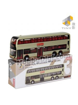 Tiny City 1:110 Diecast Model Car 63 - KMB ADL Enviro500 MMC FL 12.8M (Gold)(268C)