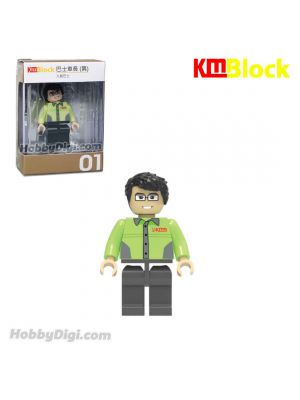 Tiny KMBlock 01 - Bus Captain (Male)