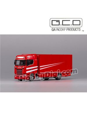 Gaincorp Product GCD 1:64 Diecast Model Car - (LHD)Scania S730 Red
