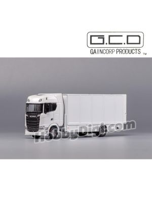 Gaincorp Product GCD 1:64 Diecast Model Car - (LHD)Scania S730 White